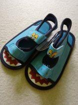 Mothercare szandál-kocsicipő kék dinós mintával (20.5)