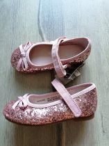 Next balerinacipő rosegold flitteres ÚJ-címkés (20,5)