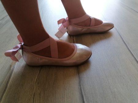 Next balerina cipő szalaggal Új-címkés (30,5)