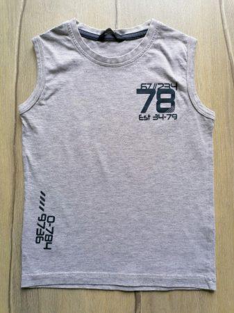 George trikó szürke színű, szám mintás (116)