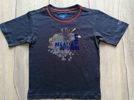Regatta póló sötét színű, mintás (128)