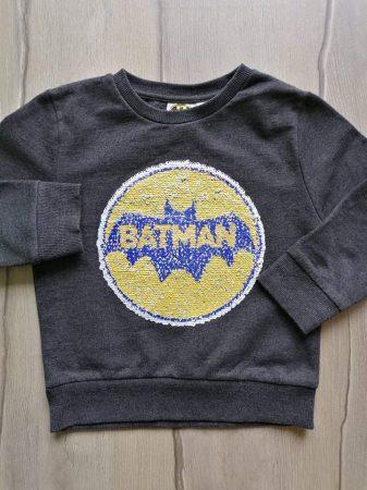 Primark pulóver, simogatós Batman mintás (110)