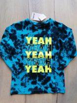 Next póló h.ujjú kék színű, feliratos Új-címkés (98)