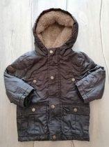 George kabát sötét színű, kapucnis (92)