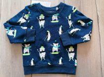 C&A pulóver jegesmedve, pingvin mintás Új-címkés (134)