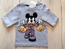 C&A póló h.ujjú Mickey mintás Új-címkés (104)