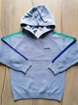 Next pulóver kapucnis gépi kötött, kék Új-címkés (110)