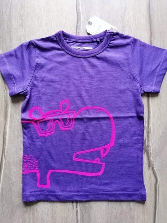 Next póló lila, víziló mintás Új-címkés (92)