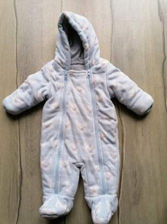 M&S overál polár, jegesmedve mintás (62)