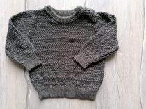 Primark pulóver gépi kötött sötét színű (68)