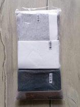 Next póló/aláöltöző szett 3db-os, szürke, fehér Új-címkés (140)
