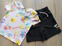 """Primark póló+short szett """"Beach fun"""" mintás Új-címkés (80)"""