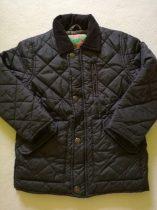 Next fekete átmeneti steppelt kabát
