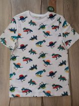 C&A póló szörfös, búvár dinó mintás Új-címkés (140)