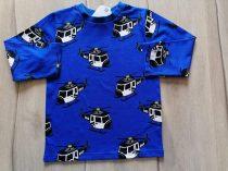 Next póló h.ujjú kék, rendőr helikopter mintás Új-címkés (92)