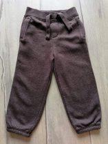 Matalan melegítő nadrág barna színű (98)