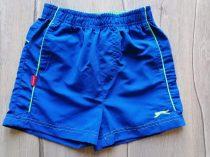 Slazenger edzőnadrág/short kék színű, emblémás (104)