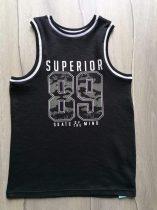 F&F trikó fekete, feliratos, szám mintás (146)