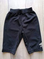 Umbro edzőnadrág/biciklis fekete színű (158)