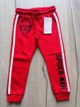 C&A melegítő nadrág piros, Pókember mintás Új-címkés (98)