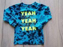 Next póló h.ujjú kék színű, feliratos (92)