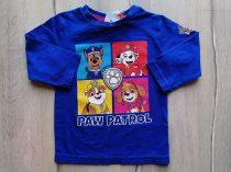 Next póló h.ujjú kék, Paw Patrol mintás Új-címkés (80)