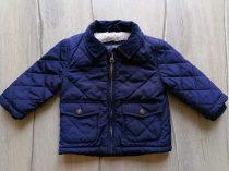 Primark kabát s.kék színű, steppelt (74)