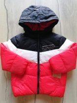 C&A kabát fekete, fehér, narancssárga színű Új-címkés (98)