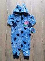 Mothercare kezes-lábas kék, felhő, Peppa malac mintás Új-címkés (86)