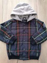 Next kabát átmeneti, s.kék színű, kockás (98)