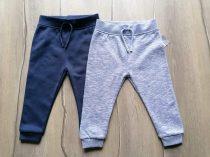 Primark melegítő nadrág szett 2db-os kék, Új-címkés (86)