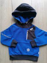 Nutmeg pulóver kapucnis, kék színű (86)