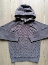 Next pulóver kapucnis, szürke színű (116)