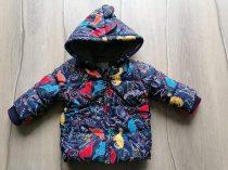 George kabát s.kék, színes dinó mintás, feliratos (74)