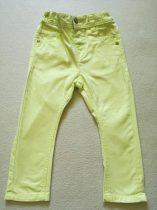Next farmer szabású nadrág neonsárga színben (86)