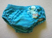 Mothercare fürdőbugyi kék csíkos és polipos (62)