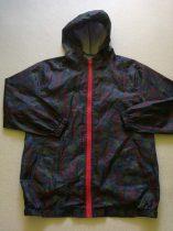 Avenue kabát átmeneti, színes kockás, kapucnis (128)