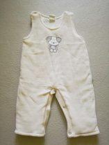 Kantáros nadrág plüss, maci mintás (68)