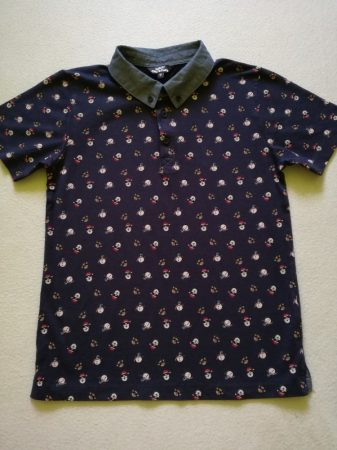 Matalan póló, télapó-hóember-rénszarvas mintás (134)