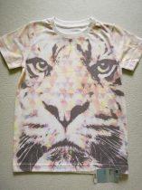Mothercare póló, tigris mintás, ÚJ-címkés (110)
