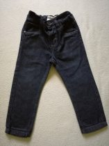 Next nadrág, farmer anyagú, sötét színű (86)
