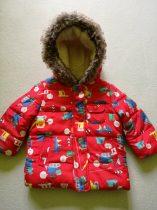 Mothercare kabát, autós-munkagépes mintákkal (80)