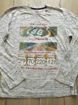 "Boboli póló h.ujjú, ""66-os út"" mintával (164)"