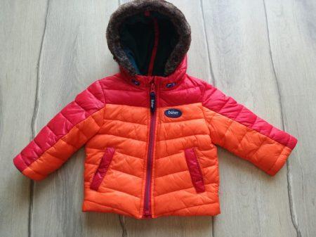 Baker kabát piros-narancssárga színű (74)
