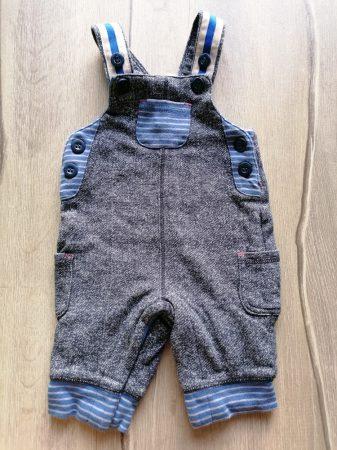 Mini club nadrág kantáros, bélelt, szürke (50)