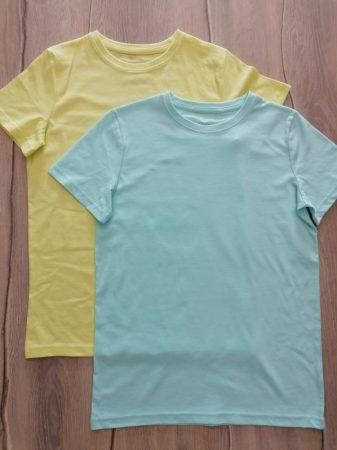 Tu póló szett 2db-os színes Új-címke nélküli (152)