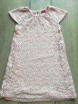YD tunika/ruhácska, csipkés virág mintás (128)
