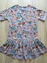 Next ruhácska /tunika szürke, virág mintás (146)