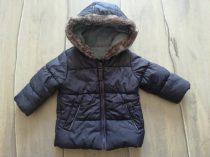 George kabát szürke , szőrmés kapucnival (74)