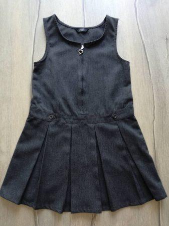 F&F ruhácska s.szürke, cipzárral (116)